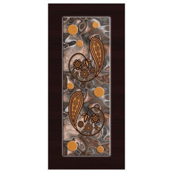 Door Skin Paper Print, Size (Feet): 5, Glossy