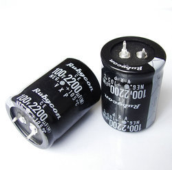 100V Rubycon Aluminum Electrolytic Capacitor