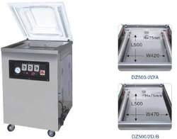 DRY FRUITS VACUUM PACKAGING MACHINE