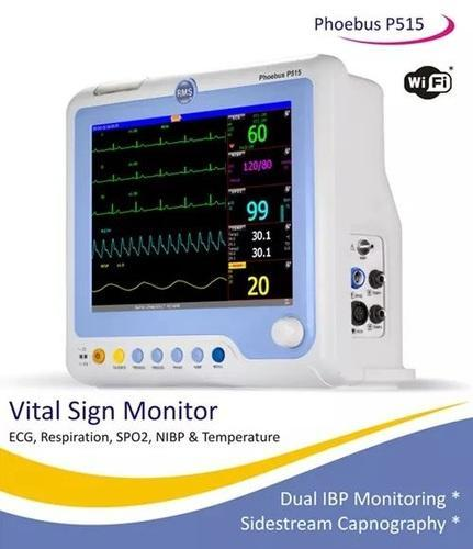 ICU Patient Monitor, For Hospitals, Silicon Medi System | ID