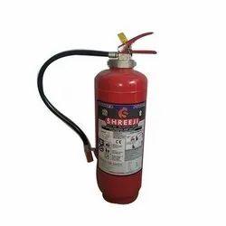 Red Mild Steel DCP Type Fire Extinguisher 9kg