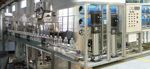Automatic Mineral Water Bottling Plant Filtration