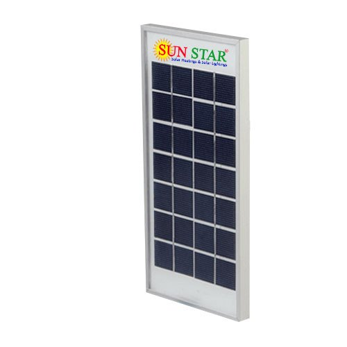 Sunstar Polycrystalline Solar Panel For Residential Commercial Rs 700 Piece Id 20428108412