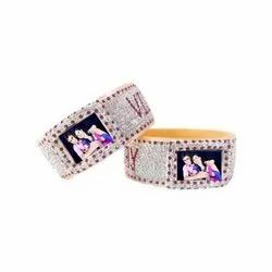 Lakh Bangles with Name and Photo