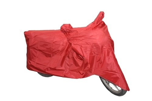 Red (100% Waterproof) Bike Body Cover