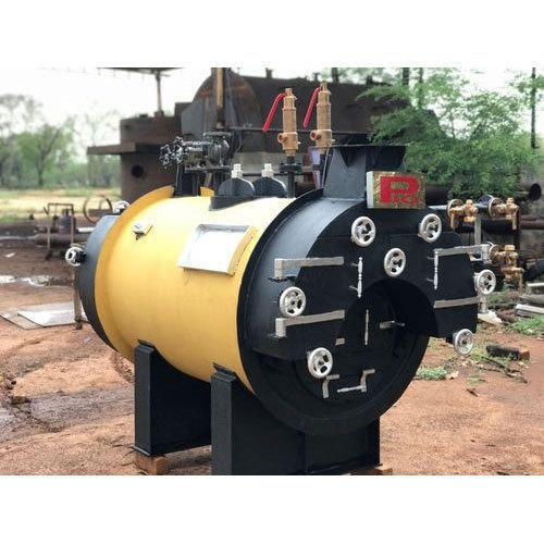 Wood Fired Steam Boiler IBR - 200 Kg/hr, Dry Back Boiler - Shanthi ...