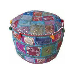 Patchwork Sitting Puff