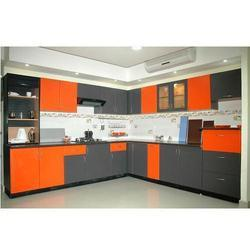 Commercial Aluminium Modular Kitchen, Warranty: 5-10 Years