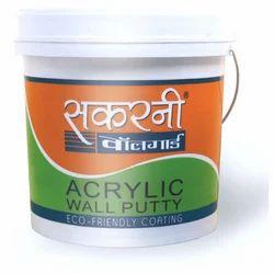 White Sakarni Acrylic Wall Putty, Packaging Size: 20 kg