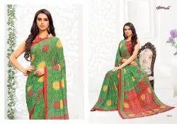 Vaishali Fashion Samaira Bandhani Digital Printed Bandhej Style Saree