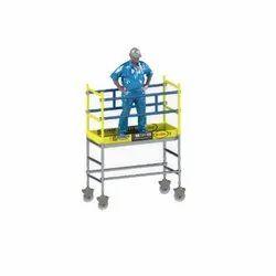 3 SSAFE Single Width Aluminum Scaffolding