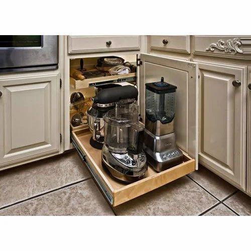 Kitchen Corner Storage System