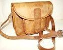 Goat Leather Curve Sling Bag