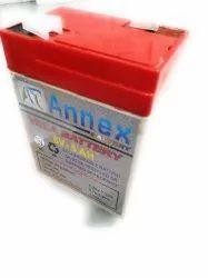 Annex 6.5AH Batteries, Warranty: 13 Months