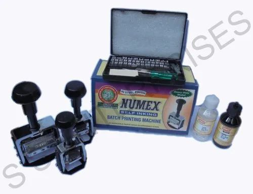 Numex Manual Coding Machine, Capacity: 100000, Packaging Type: Box
