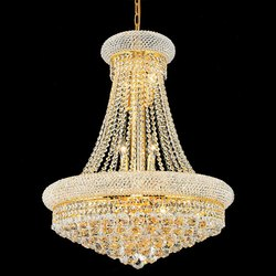 Gold Pendant Lamp LED Chandelier Lamp, For Home Decoration