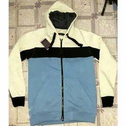 Full Sleeves Mens Hooded Sweatshirt, Size: Medium