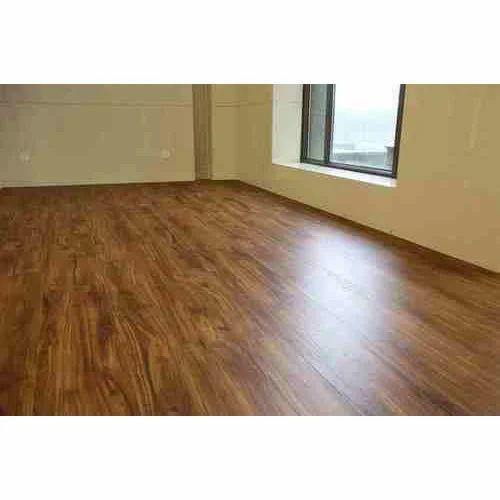 Brown Bedroom PVC Flooring
