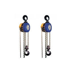 Easy Move Standard Indef Chain Pulley Block, Size/Capacity: 0-5 Ton