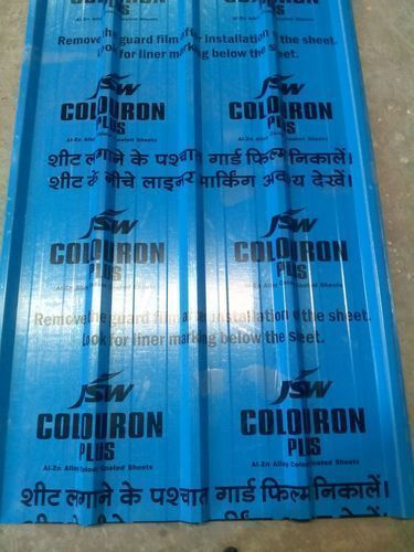 Steel Jsw Roofing Sheets Rs 86 Kilogram Jay Corporation