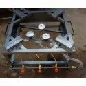 Commercial Three Burner LPG Stove