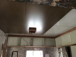 Indoor ACP Ceiling Panel Work