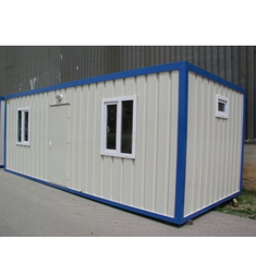 Rectangular Portable Office Cabin