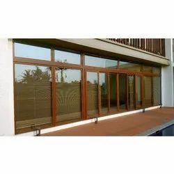 UPVC Sliding Window, Thickness Of Glass: 5-10mm