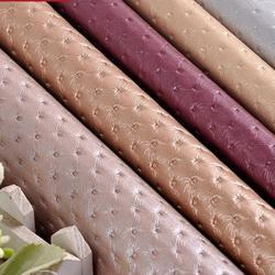 PVC Leather Car Seat Cover Fabric
