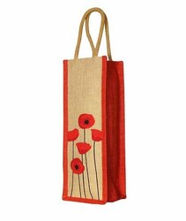 Single Bottle Jute Bag