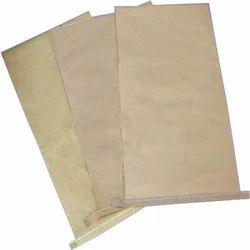 Brown Laminated Paper Bag, Capacity: 25 Kg, Shape: Rectangular