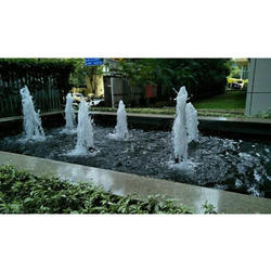 Aroona Impex 1 Hp Decorative Outdoor Waterfall, Flow Rate: 4.32--56.50 m3/H