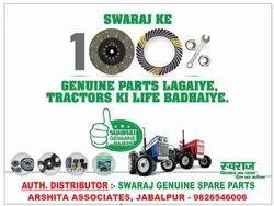 Mild Steel Swaraj Tractor - Genuine Spares