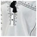 Boho Embroidered Blouse