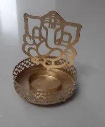 Brass Metal Designer Diya