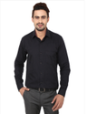 Black Color Linen Formal Shirt