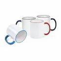 Teesco Ceramic Plain Luminous Coffee Mug, 300 Ml