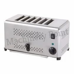 3.24 Kw Machinery Point Popup Toaster, for Commercial