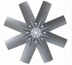Aluminum Impeller 6 Blade Dia 1120 mm