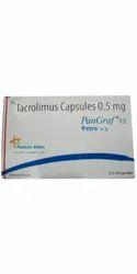 Pangraf Tacrolimus 0.5mg Capsules