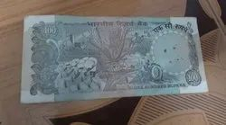 Old Indian Hundred Rupees Note