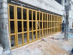 Manual Heavy Industrial Folding Door