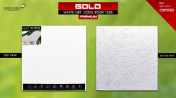 White Lime Heat Resistant Tile White Feet