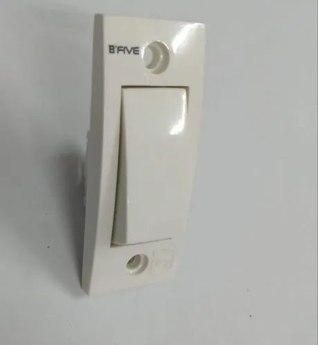 White B-130 Electrical Switches 6 Amp, 220-240 V