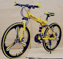 Yellow Audi R8 Foldable Cycle