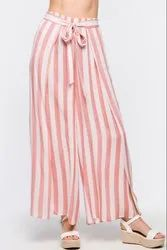 Stripe Printed Palazzo For Woman