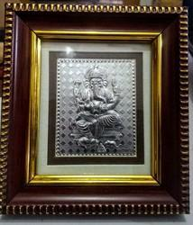 Mini 2 Thin Frame - Ganesh Silver