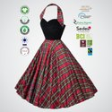Natural Recycle Organic Cotton Ladies Party Wear Dress