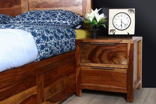 New Kaira Honey Sheesham Wood Bed Side Table