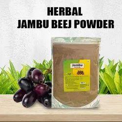 Herbal Jambu Beej (Black Plum) Powder - 100 gms